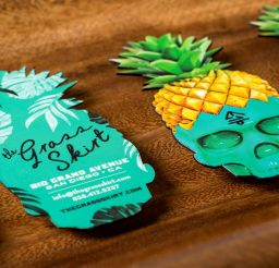 Grass Skirts suede32 Die Cut Colored Edges scaled JCP Print Solutions